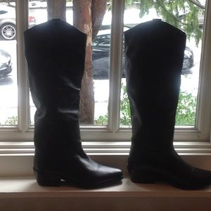 Tall western boots